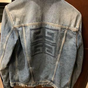 Givenchy trucker denim jacket men's